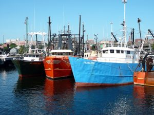 Fishing Boat named Fearless